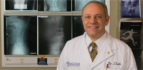 Dr Daniel Clark Macomb Spine Care